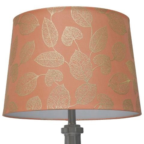 threshold metallic linen lamp shade large cor target. Black Bedroom Furniture Sets. Home Design Ideas