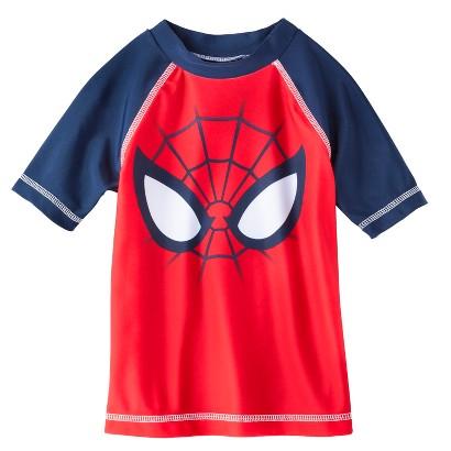 Spider-Man Toddler Boys' Short-Sleeve Rashguard