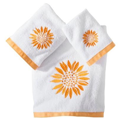 Sunflower 3 Piece Towel Set