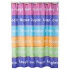 Inspirational Girls Shower Curtain