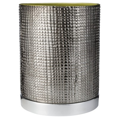 Textured Rings Wastebasket