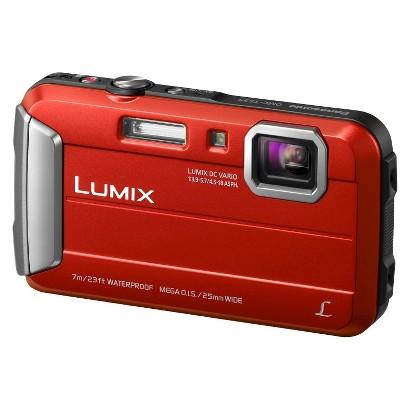 Panasonic Lumix DMC-TS25R 16.1MP Digital Camera with 4X Optical Zoom - Red