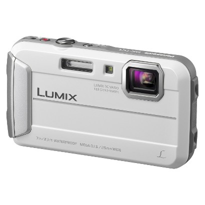 Panasonic Lumix DMC-TS25W 16.1MP Digital Camera with 4X Optical Zoom - Silver