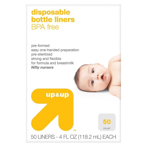 up & up™ Bottle Liners  - No Size