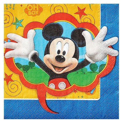 Mickey Mouse 16Ct Lunch Napkin