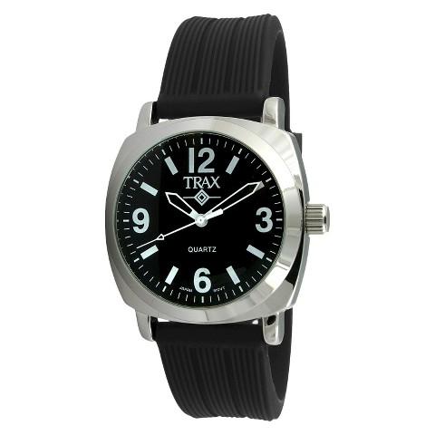 Women's Trax Shelley Black Dial 40mm Watch - Black