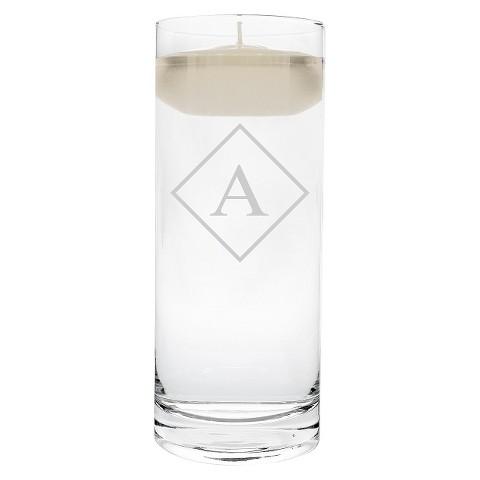 Diamond Initial Floating Unity Candle