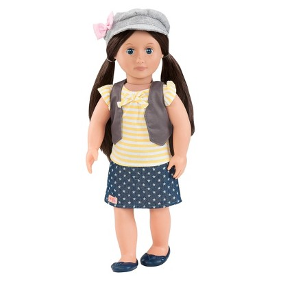 "Our Generation 18"" Non-Poseable Doll - Neve"