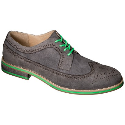 Men's Mossimo Supply Co. Dillan Wingtip Oxford - Steel