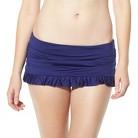 Mossimo® Women's Mix and Match Swim Skirt -Indigo Night
