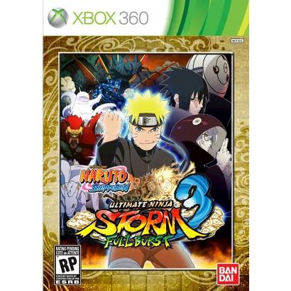 Naruto Shippuden: Ultimate Ninja Storm Fullburst (Xbox 360)