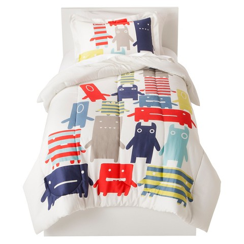 Monsters Comforter Set