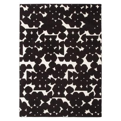 Nate Berkus™ Area Rug - Black/Shell (5'x7')