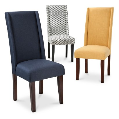 charlie modern wingback dining chair target