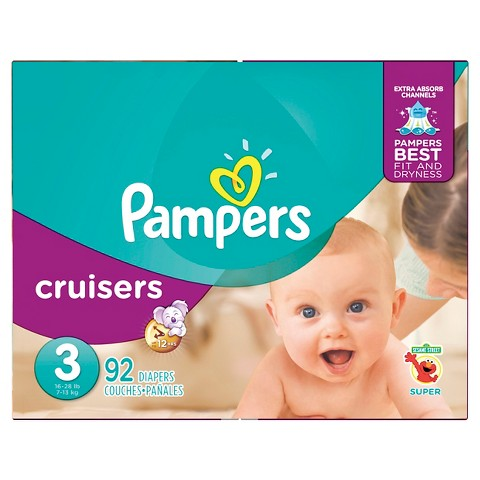 Pampers Cruisers Diapers Super Pack (Select Size)