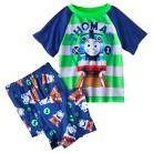 Thomas and the Tank Engine Toddler Boys' 2-Piece Short-Sleeve Pajama Set