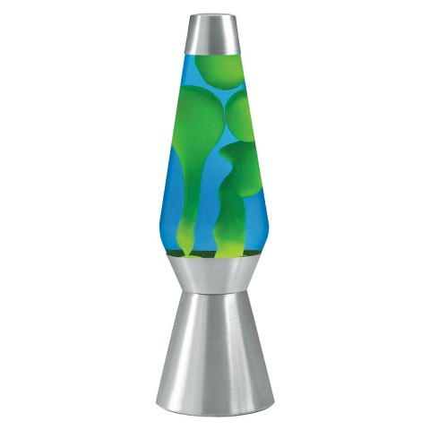 Lava Lamp Novelty Table Lamp - Green/Blue : Target