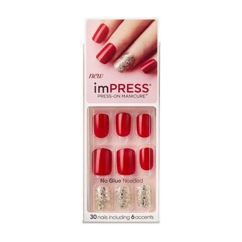 Broadway Nails imPRESS® Press-On Manicure® - Tweetheart