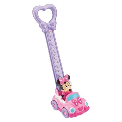 Fisher-Price Disney Baby Minnie Mouse 2-in-1 Push Car