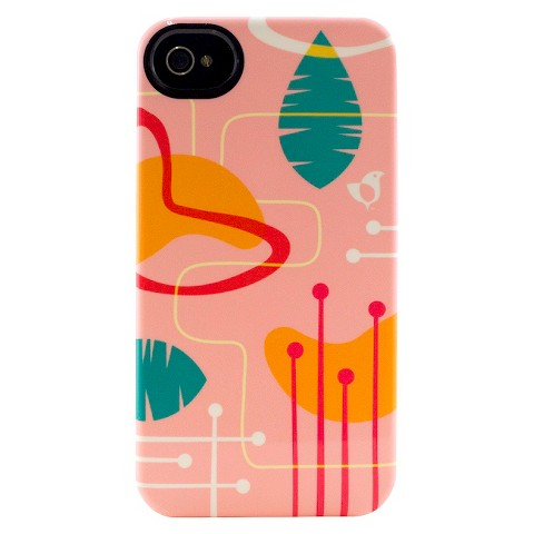 Uncommon Birdie Mod Shapes Cell Phone Case for iPhone 4/4s