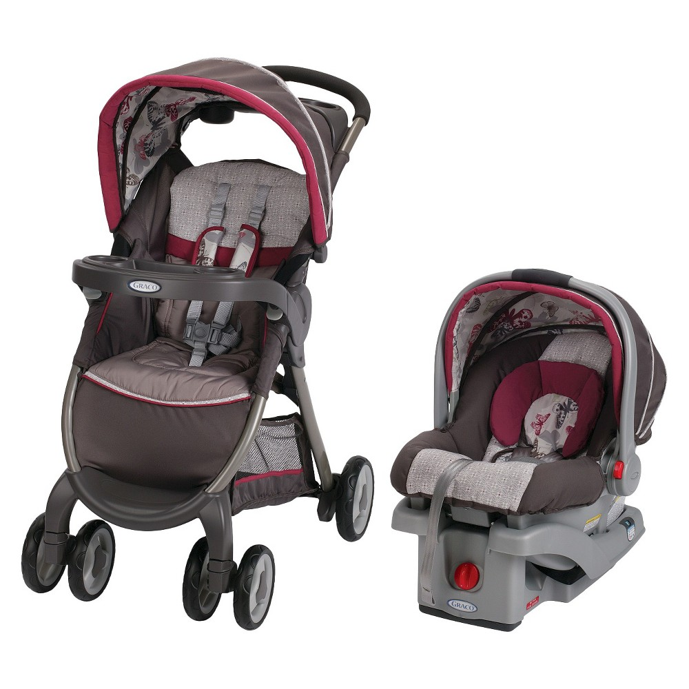 GRACO FASTACTION FOLD STROLLER AND INFANT CAR SEAT TRAVEL ...