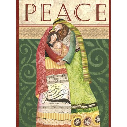 Classic Christmas Card - Peace