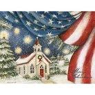 Boxed Christmas Card - An American Christmas