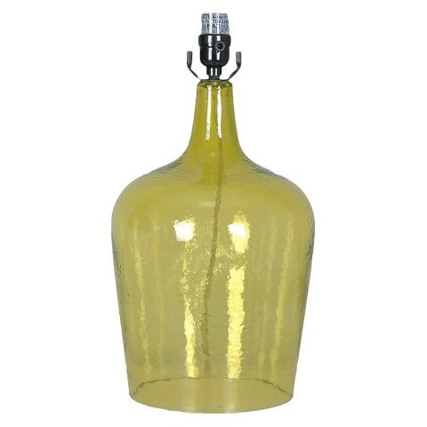threshold artisan glass jug lamp base includes target. Black Bedroom Furniture Sets. Home Design Ideas