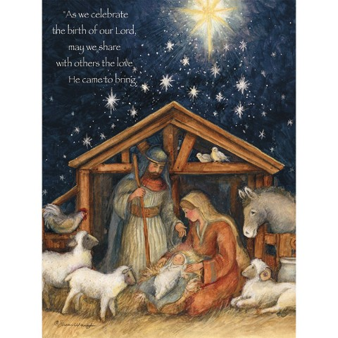 Boxed Christmas Card - Holy Family