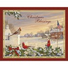 Boxed Christmas Card - Colors of Christmas