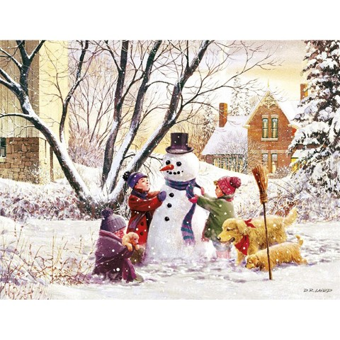 Boxed Christmas Card - Frosty
