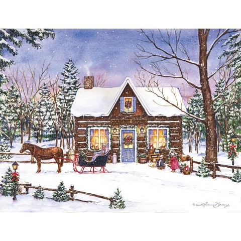 Magical Evening Holiday Boxed Card Set (18 count)