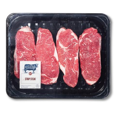 Sutton & Dodge Steak Strip Family Pack 4 ct