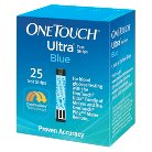 OneTouch® Ultra® Blue Test Strips - 25 Count