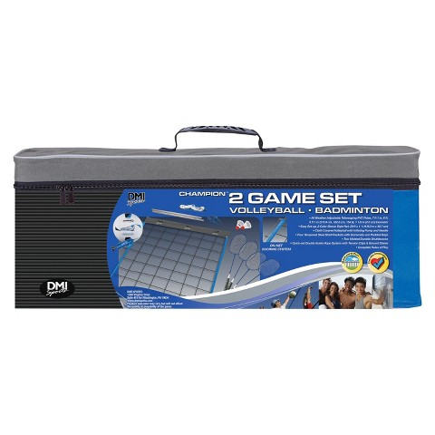 Verus Sports Champion 2-Game Set Volleyball/Badminton Sets