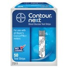 Bayer Contour® Next Blood Glucose Test Strips - 50 Strips