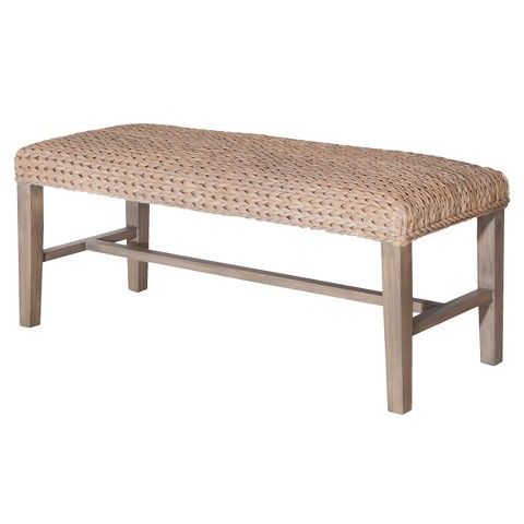 Andres Seagrass Bench