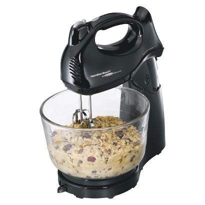 Hamilton Beach Power Deluxe 6-Speed Hand/Stand Mixer