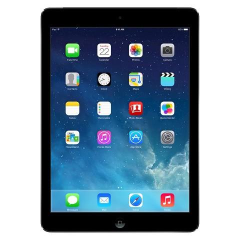 Apple® iPad Air 32GB Wi-Fi + Cellular (AT&T) - Space Gray/Black (MF003LL/B)