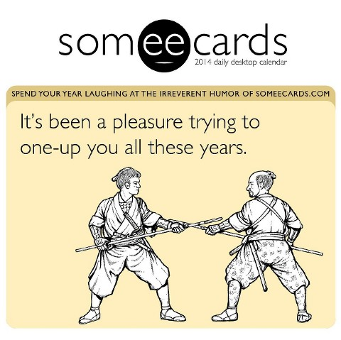 2014 Someecards Box Calendar by TF Publishing : Target