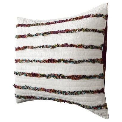 Print Merida Ruched Quilted Sham