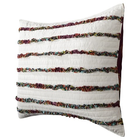 homthreads™ Print Merida Ruched Quilted Sham
