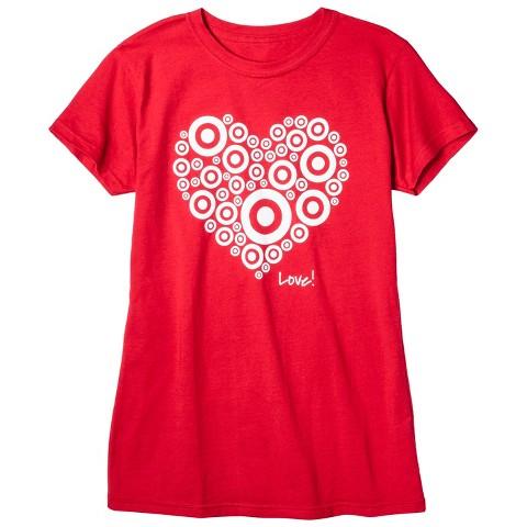 Ladies Short Sleeve Brand Love T-Shirt