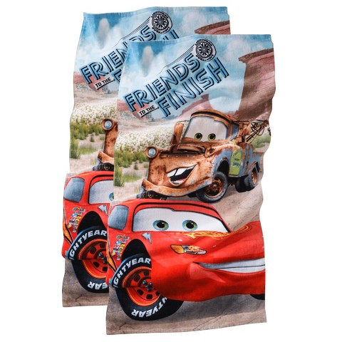 Disney® Cars Friends to the Finish Beach Towel - 2-pk.