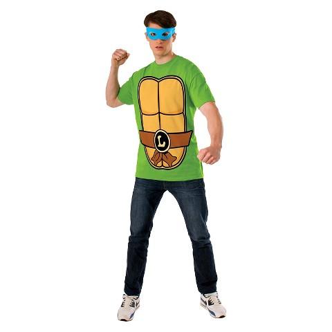 Teenage Mutant Ninja Turtles Men's Leonardo T-Shirt Costume