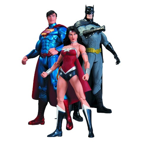 DC Collectibles DC Comics The New 52 Trinity War Action Figure Playset