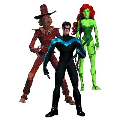 DC Collectibles Hush Scarecrow, Nightwing and Poison Ivy Action Figure