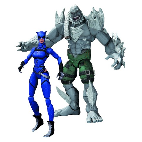 Injustice Catwoman Vs Doomsday Action Figure