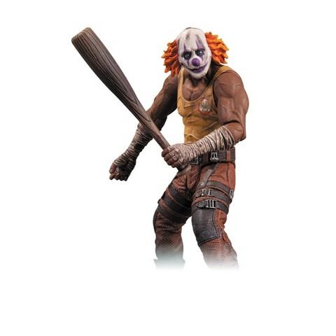 DC Collectibles Batman  Arkham City -  Series 3 Clown Thug with Bat Action Figure