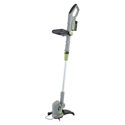 "LawnMaster 18V Li-On 10"" Cordless Grass Trimmer with Quick Charge"